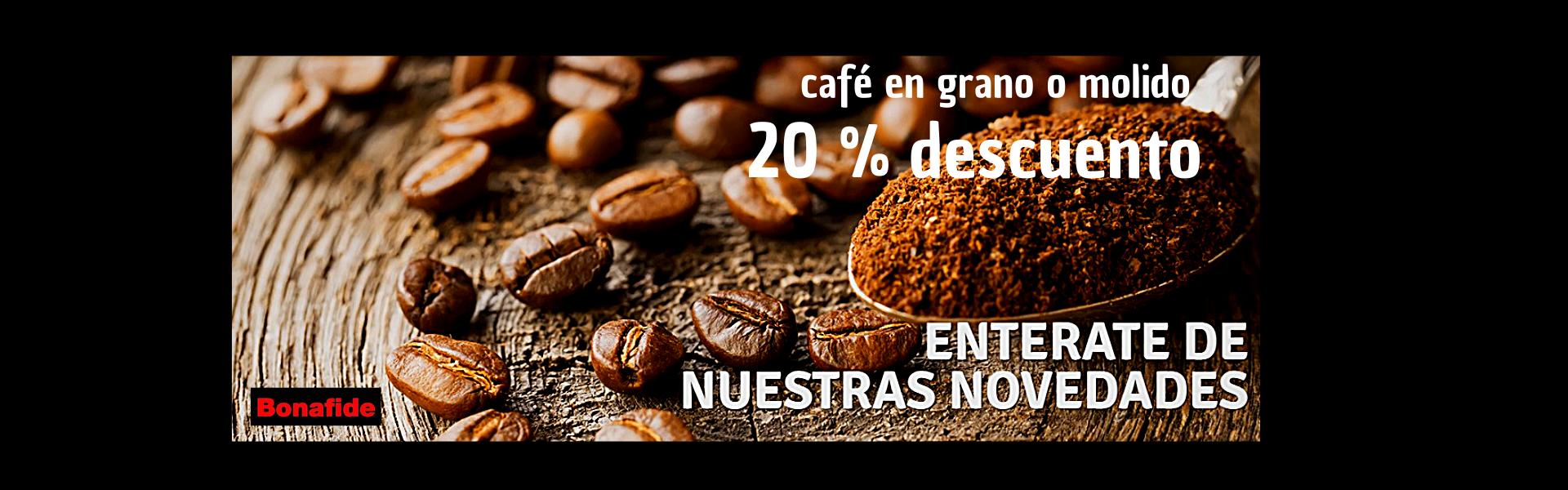 20 por ciento cafe
