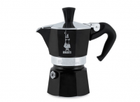 Cafetera Bialetti Moka Express Negra 6 tazas marca Bonafide