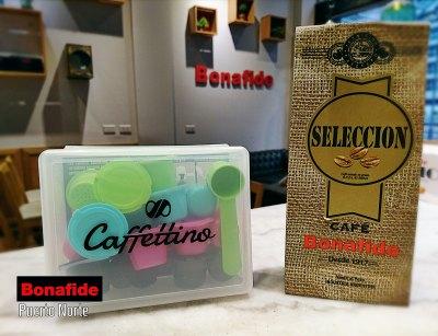 CAJA CAFFETTINO NESPRESSO  X 12 CAPSULAS + 250 GR DE CAFÉ TOSTADO