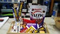 BANDEJA DE CHOCOLATES  marca Bonafide